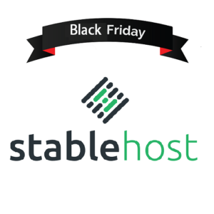 Stablehost Black Friday 2018 Offers & Deals [SALE ON]