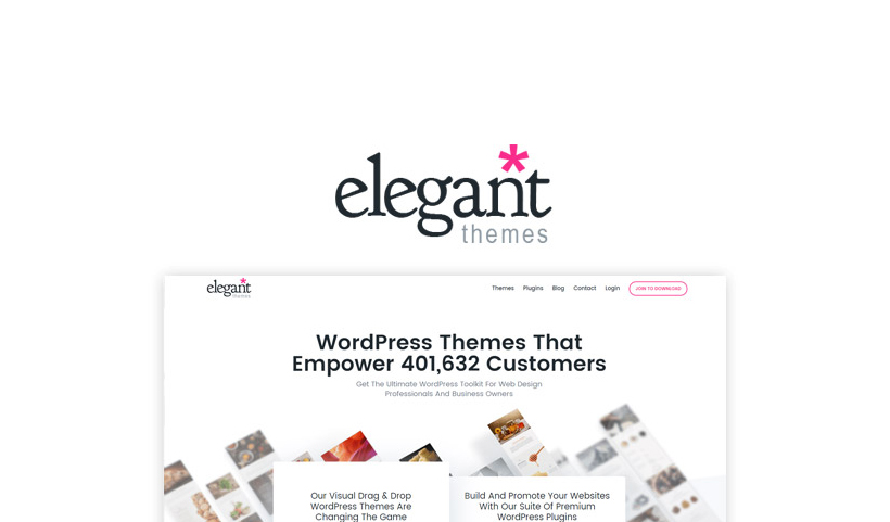 Elegant Themes Black Friday 2018 - 25% Discount [LIVE]