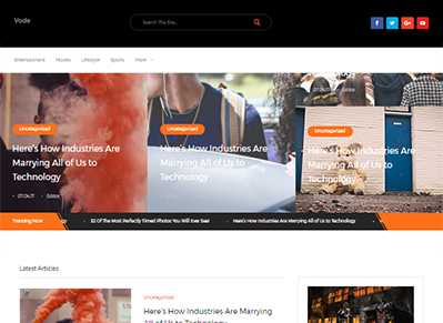 Vode WordPress Theme Black Friday