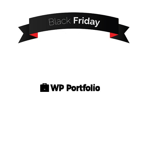 WP Portfolio Black Friday 2018 Sale (30% DISCOUNT)