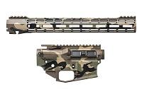 "M4E1 Builder Set w/ 15"" ATLAS S-ONE M-LOK Handguard - Veteran's Camo (BLEM)"